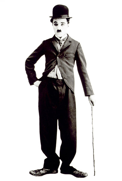Charlie Chaplin - Movie Star Portrait Poster
