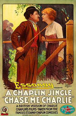 Chase Me Charlie - 1918 - Movie Poster