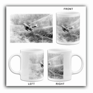 Chateau Thierre Aeroplane - World War I - Argone Forest & French Trenches - Photo Mug