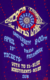 Chicago Transit Authority - The James Gang - 1970 - Concert Poster