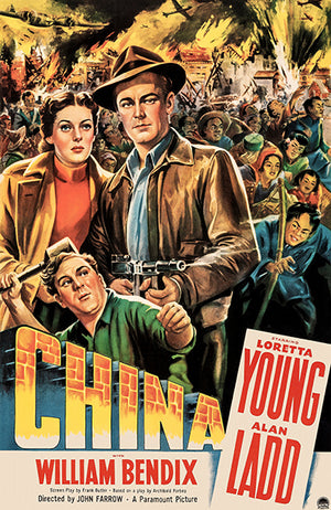 China - 1943 - Movie Poster