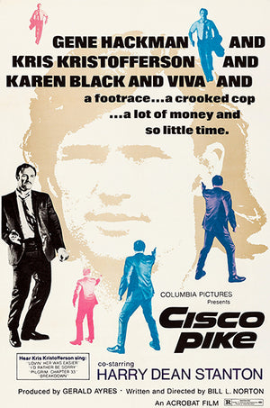 Cisco Pike - 1971 - Movie Poster