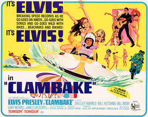 Clambake - 1967 - Movie Poster