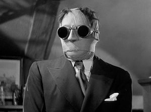 Claude Rains - The Invisible Man - 1933 - Movie Still Photo Poster