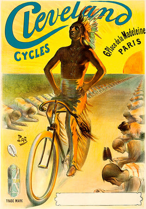 Cleveland Cycles - 1898 - Promotional Advertising Poster