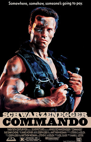 Commando - 1985 - Movie Poster