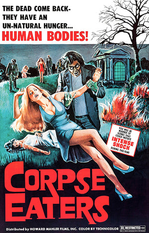 Corpse Eaters - 1974 - Movie Poster