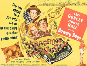 Crashing Las Vegas - 1956 - Movie Poster Magnet