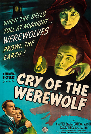 Cry Of The Werewolf - 1944 - Movie Poster Magnet
