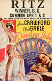 Dancing Lady - 1933 - Movie Poster