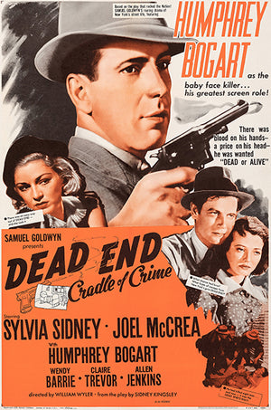 Dead End - 1954 - Movie Poster Magnet