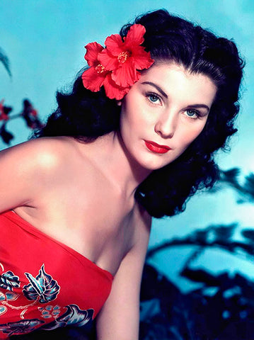 Debra Paget - Bird Of Paradise - Movie Still Poster
