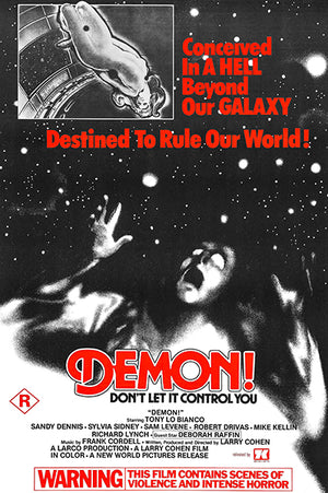 Demon! - 1976 - Movie Poster Magnet