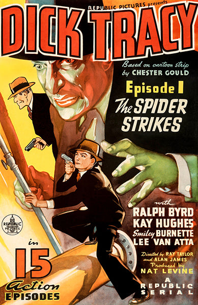 Dick Tracy - The Spider Strikes - 1937 - Movie Poster