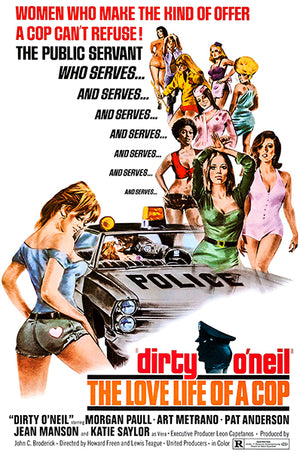 Dirty O'Neil - 1974 - Movie Poster Magnet