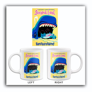 Disneyland - Storybook Land - 1955 - Promotional Advertising Mug