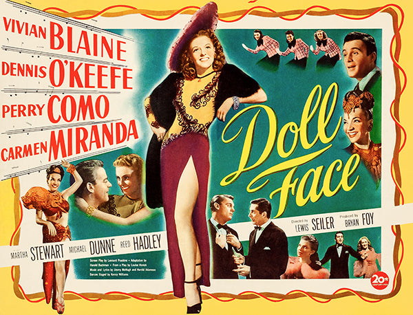 Doll Face - 1946 - Movie Poster