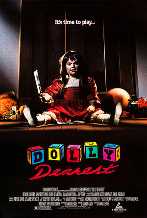 Dolly Dearest - 1991 - Movie Poster Magnet