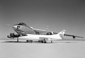 Douglas D-558-II & B-47A Stratojet - NACA Aircraft Fleet - 1954 - Photo Poster