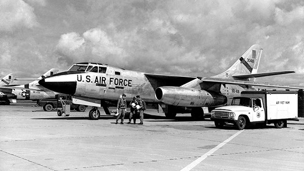 Douglas RB-66B Destroyer Air Recon - Viet Nam - 1965 - Photo Poster
