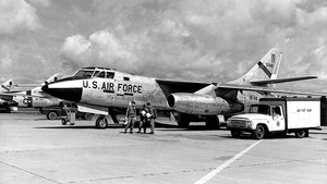 Douglas RB-66B Destroyer Air Recon - Viet Nam - 1965 - Photo Magnet