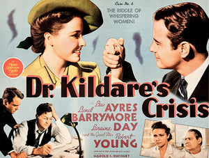 Dr Kildare's Crisis - 1940 - Movie Poster