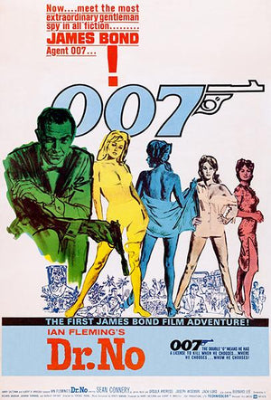 Dr. No - James Bond - 1962 - Movie Poster Magnet