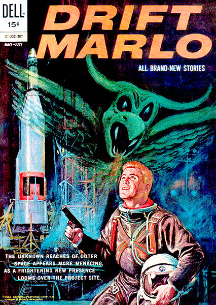 Drift Marlo - May-July 1962 - Comic Book Cover Poster