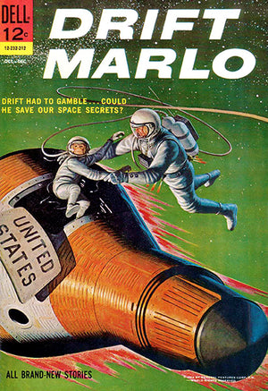 Drift Marlo - October-December 1962 - Comic Book Cover Poster