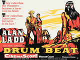 Drum Beat - 1954 - Movie Poster