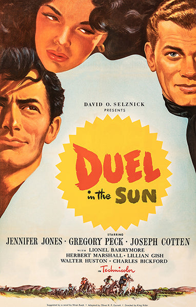 Duel In The Sun - 1947 - Movie Poster