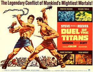 Duel Of The Titans - 1963 - Movie Poster
