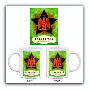 Duhau - French Cognac - 1920's - Promotional Advertising Poster Mug