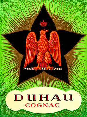 Duhau - French Cognac - 1920's - Promotional Advertising Poster