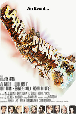 Earthquake - 1974 - Movie Poster Mug