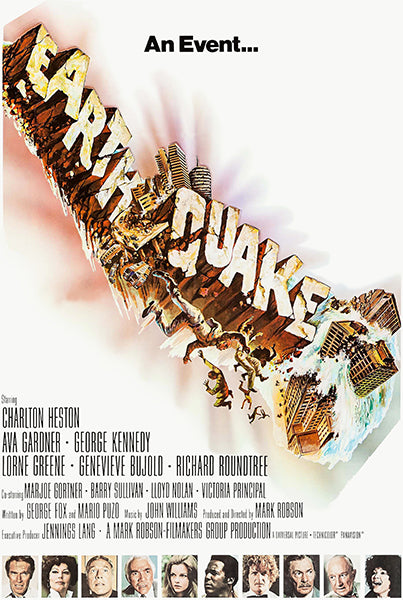 Earthquake - 1974 - Movie Poster