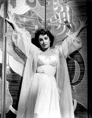 Elizabeth Taylor - Elephant Walk - Movie Still Poster