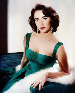 Elizabeth Taylor - Movie Star Portrait Poster