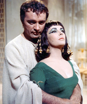 Elizabeth Taylor - Richard Burton - Cleopatra - Movie Still Poster
