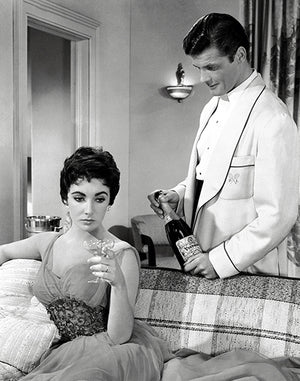 Elizabeth Taylor - Roger Moore - The Last Time I Saw Paris - Movie Still Poster