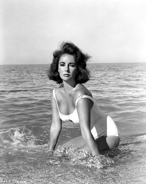 Elizabeth Taylor - Suddenly, Last Summer - Movie Still Poster