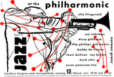 Ella Fitzgerald - Dizzy Gillespie - Jazz At The Philharmonic - 1955 - Concert Magnet
