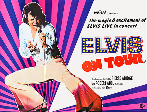 Elvis On Tour #2 - 1972 - Movie Poster