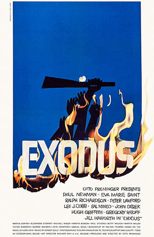 Exodus - 1960 - Movie Poster