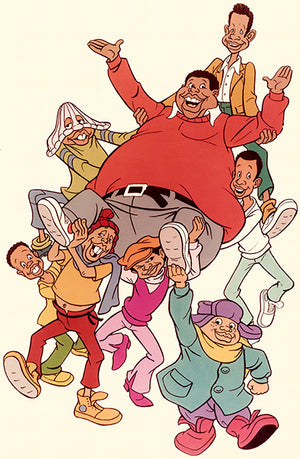 Fat Albert & The Cosby Kids - 1972 - POP Art Poster