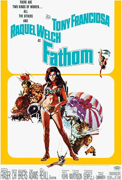 Fathom - 1967 - Movie Poster Mug