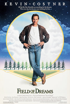 Field Of Dreams - 1989 - Movie Poster