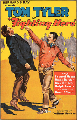Fighting Hero - 1934 - Movie Poster