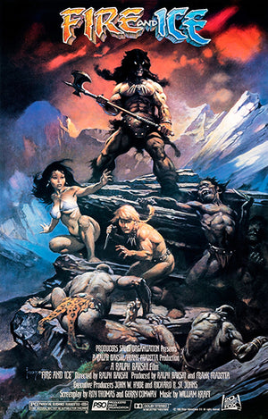 Fire And Ice - 1983 - Movie Poster
