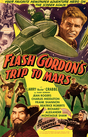 Flash Gordon's Trip To Mars - 1938 - Movie Poster